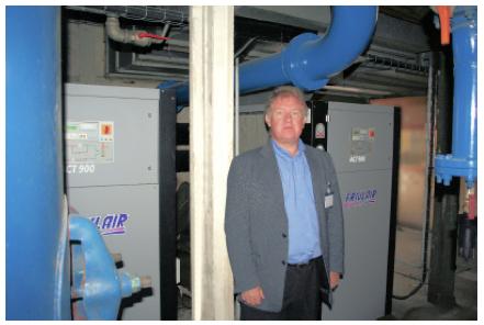 Rénovation installation de traitement d'air comprimé - PARTENAIR