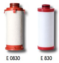 élément filtrant de type E 830 - PARTENAIR