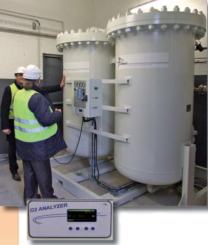 Générateurs d'azote série GLV - PARTENAIR