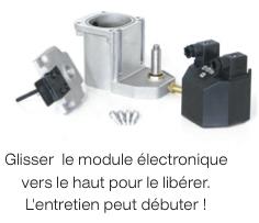 Purgeur capacitif CAPTAIR - Entretien - PARTENAIR