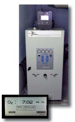 Générateurs d'azote série GLV : du plus gros au plus petit........