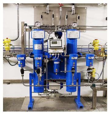 Séchage d'hélium haute pression - 250 Bars à -70°C