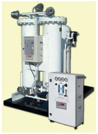Série GLV : L'azote haute pureté jusqu'à 99,999%