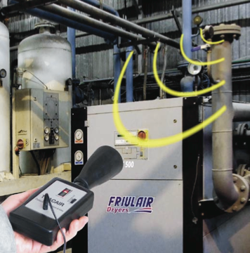 TRACAIR : détecteur de fuites par mesure ultrasonique performant et économique