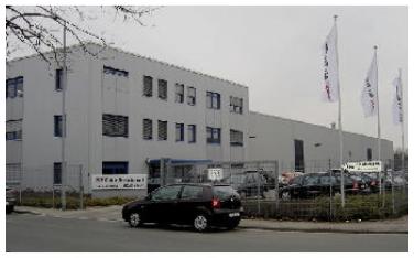 DELTECH HANKISON L'unité de production SPX de MOERS Allemagne