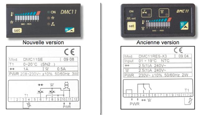 Version du contrôleur DMC 11 pour sécheurs série DFE
