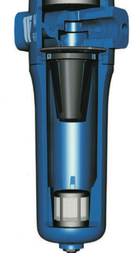 Why a centrifugal separator?