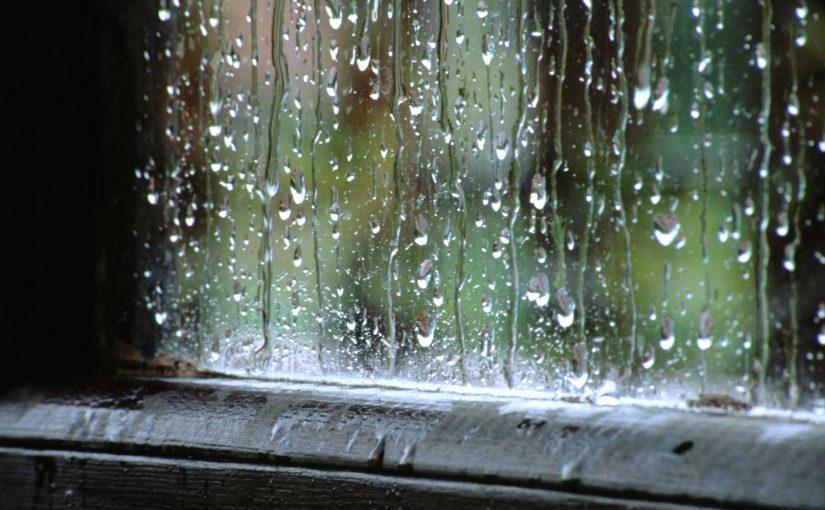 Pluie qui mouille...