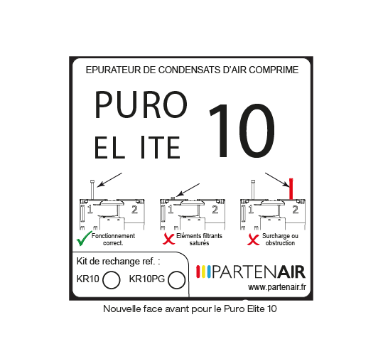 New signage for PURO-ELITE separators