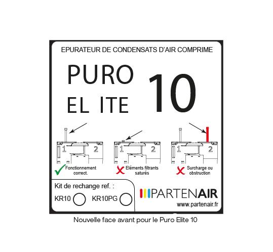 Nouvelle signalétique pour les séparateurs PURO-ELITE