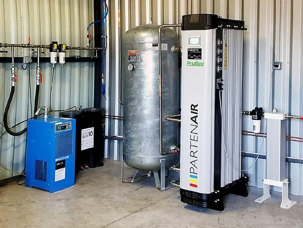 Générateur d'azote PROGEN - Application sur site