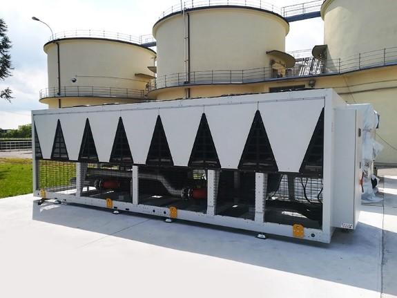 Les centrales d'eau glacée Vinicole et Brasserie