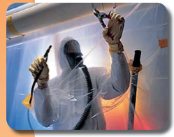 Asbestos removal: New standard for breathing air